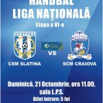 Handbal-Liga Nationala-Etapa a VI-a